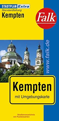 Falk Stadtplan Extra Standardfaltung Kempten 1:17 000: Kempten