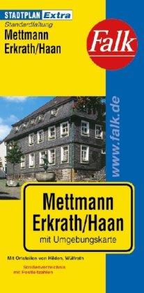 9783827924667: Falk Stadtplan Extra Mettmann, Erkrath, Haan: Mit Ortsteilen von Hilden/Wülfrath
