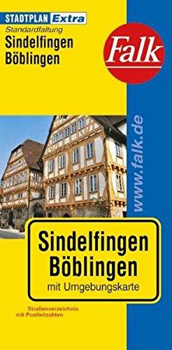 9783827925701: Falk Stadtplan Extra Standardfaltung Sindelfingen / Böblingen