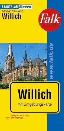 9783827926388: Falk Stadtplan Extra Standardfaltung Willich