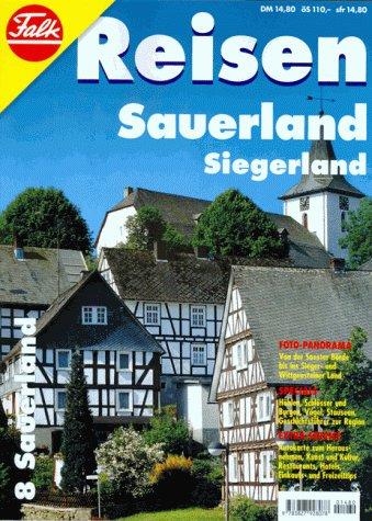 9783827928078: Falk Reisen, H.8, Sauerland, Siegerland