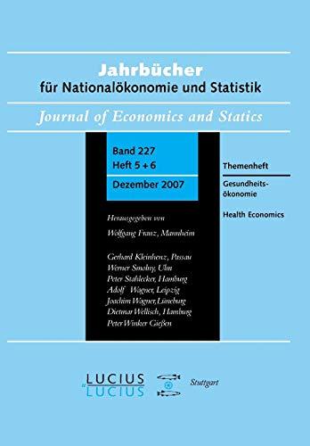Gesundheitsökonomie / Health Economics: Klaus-Dirk Henke