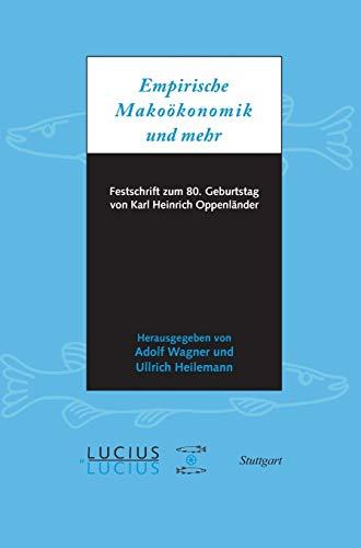 Empirische Makroökonomik und mehr: Adolf Wagner