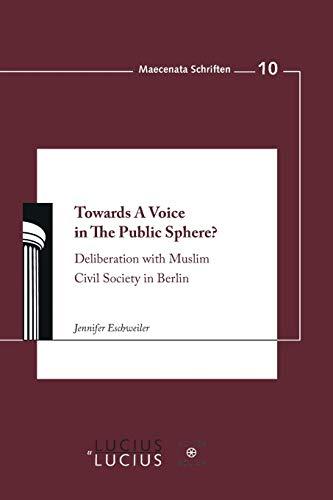 Towards A Voice in The Public Sphere?: Jennifer Eschweiler