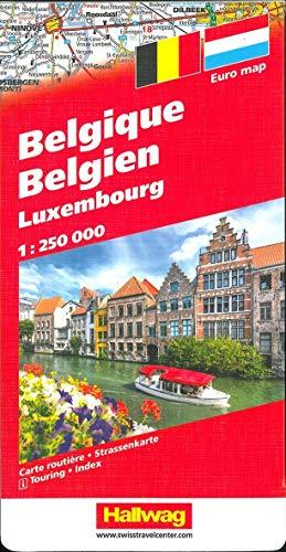 9783828300071: Belgien-Luxemburg / Belgium-Luxemburg (Road Map)