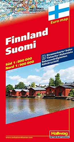 9783828300194: Finlandia-Finnland-Suomi 1:800.000 1:900.000: With Touring Information (Carte stradali d'Europa) [Idioma Inglés]