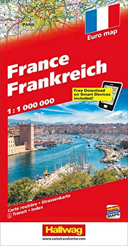 9783828300217: France, Distoguide; (Road Map)