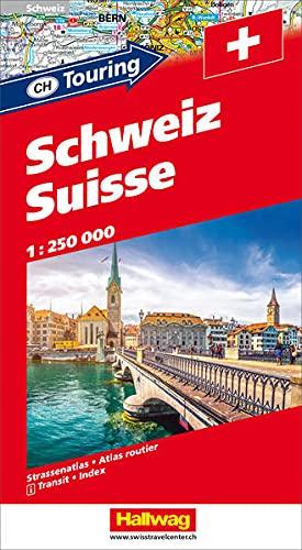 9783828300484: Atlante della Svizzera-Schweiz-Suisse 1:250.000. Ediz. a spirale (Atlanti stradali d'Europa)
