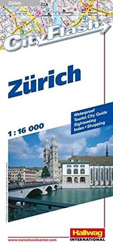 9783828300927: Zürich/Zurich (Rand McNally Cityflash Visitor Maps)