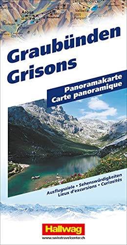 9783828301245: Graubünden Panoramakarte