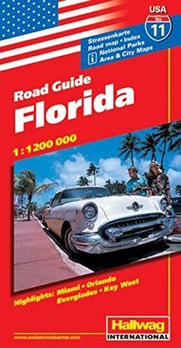 Rand McNally Florida: Area & City Maps,