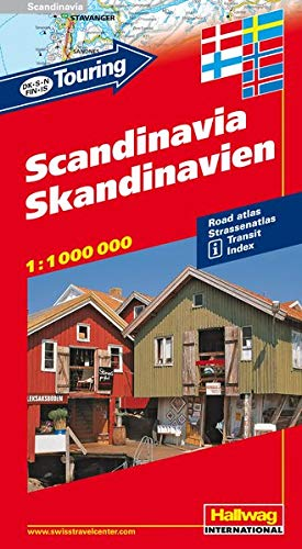 9783828303089: Touring Scandinavie : 1/1 000 000
