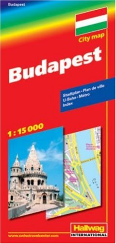 9783828305243: Budapest City Map (Multilingual Edition)