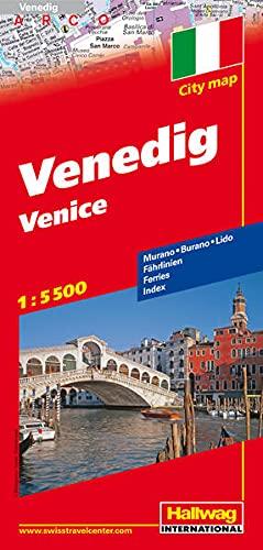 9783828305823: Venice CityMap hallwag r/v (r) wp