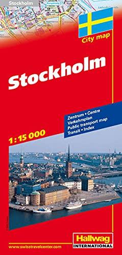 9783828306172: Stockholm City Map