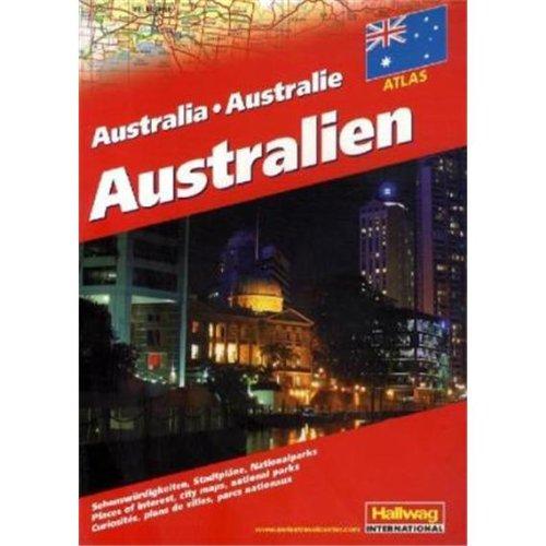 9783828306752: Australien Straßenatlas: Sehenswürdigkeiten, Stadtpläne, Nationalparks. Places of interest, City maps, national parks. Curiositès, plans de villes, parcs nationaux