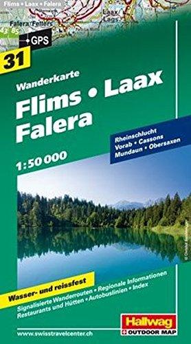 9783828307124: Films Laax / Falera: HAL.WK.31 (Wanderkarte)
