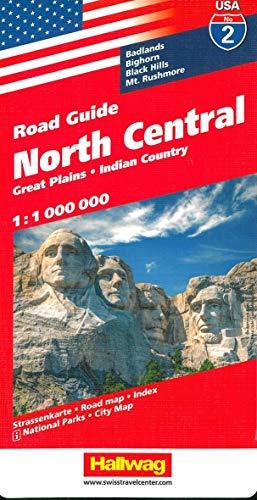 9783828307537: USA 2 North Centr. hallwag (+r) (Hallwag USA)