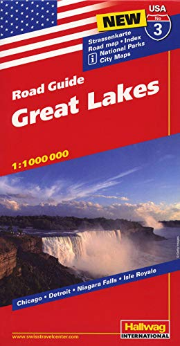 9783828307544: Great Lakes (3) (Road Guide)