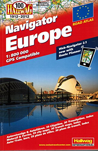 9783828307643: Europe Atlas + Web-Navigator 2.0: HALA.EUR