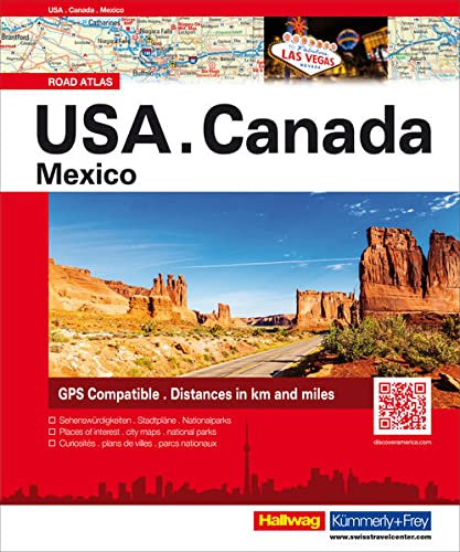 9783828308350: USA / Canada / Mexico Atlas 2016: HKFA.US