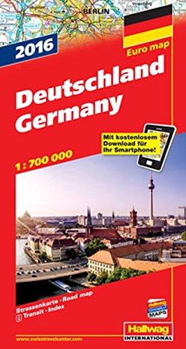 9783828308527: Straßenkarte Deutschland 2016: Maßstab 1:700 000