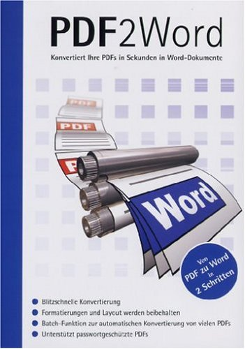 9783828783898: PDF 2 Word