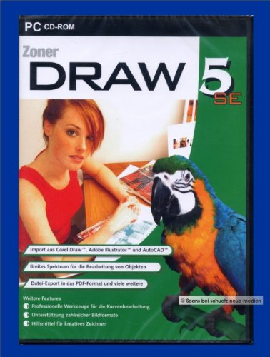 9783828788640: Zoner Draw 5 SE [import allemand]