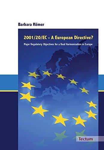 2001/20/EC - A European Directive?: Barbara Römer