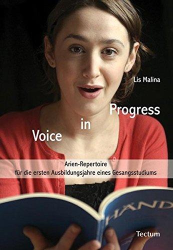 9783828823716: Voice in Progress: Arien-Repertoire für die ersten Ausbildungsjahre eines Gesangsstudiums