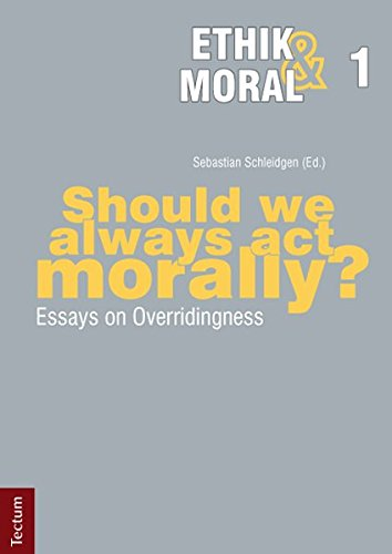 9783828828278: Should we always act morally?: Essays on Overridingness