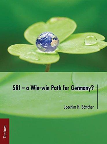 SRI - a Win-win Path for Germany? (Hardback): Joachim H. Böttcher