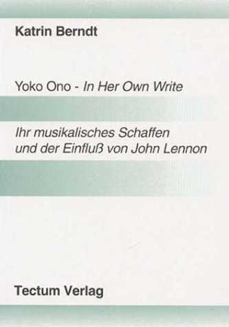 9783828880214: Yoko Ono - In Her Own Write