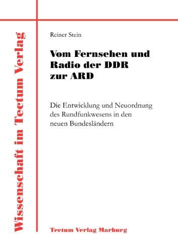 9783828880894: Vom Fernsehen und Radio der DDR zur ARD (Laboratory Companion)