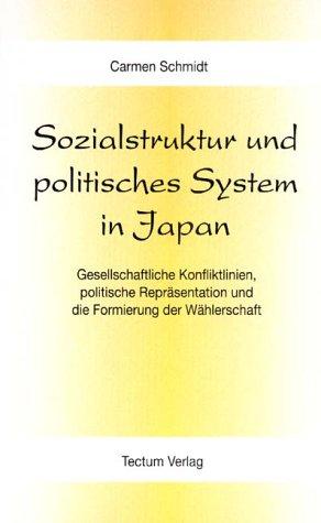 9783828883260: Sozialstruktur und politisches System in Japan (German Edition)