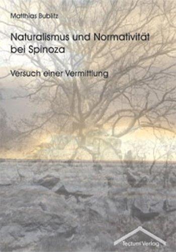 9783828884649: Naturalismus und Normativität bei Spinoza (German Edition)