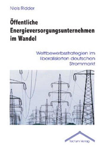 9783828885271: Öffentliche Energieversorgungsunternehmen im Wandel (German Edition)