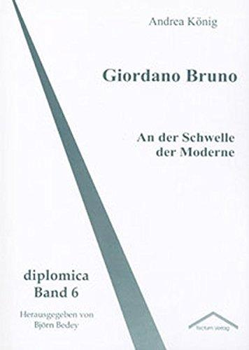 9783828885585: Giordano Bruno