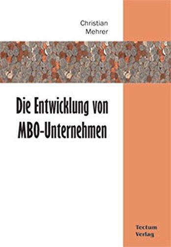 Die Entwicklung Von MBO-Unternehmen: Christian Mehrer
