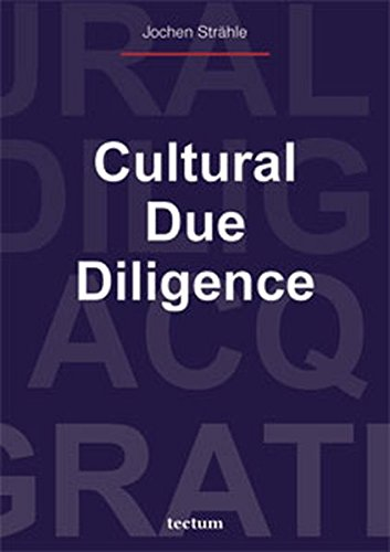 9783828887183: Cultural Due Diligence