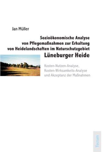 9783828888333: Sozioökonomische Analyse von Pflegemaßnahmen zur Erhaltung von Heidelandschaften im Naturschutzgebiet Lüneburger Heide