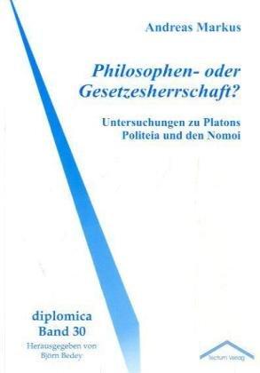 9783828889880: Philosophen- oder Gesetzesherrschaft? (German Edition)