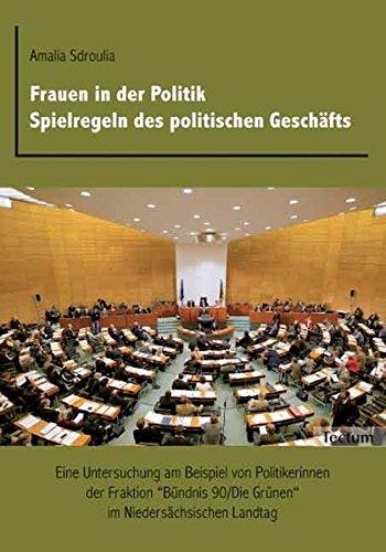 9783828891449: Frauen in der Politik. Spielregeln des politischen Geschäfts