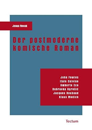 9783828898592: Der postmoderne komische Roman