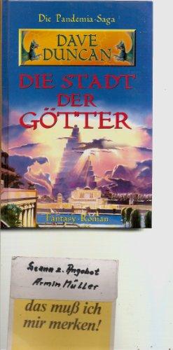 9783828901865: Die Stadt der Götter. Die Pandemia-Saga.