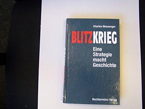 9783828903661: Blitzkrieg. Eine Stategie macht Geschichte