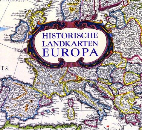 9783828903838: Historische Landkarten Europa.