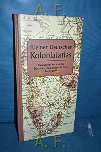 9783828905269: Kleiner Deutscher Kolonialatlas