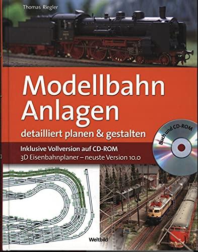 9783828908741: Modellbahn Anlagen detailliert planen & gestalten