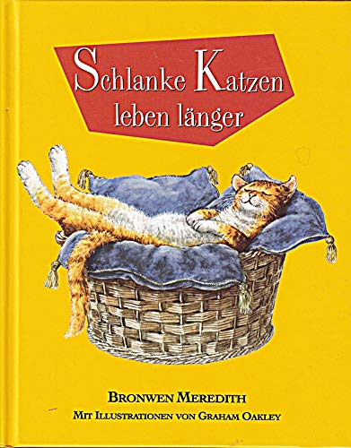 9783828915749: Schlanke Katzen leben länger